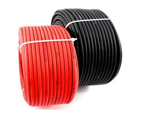 Dây DC đen, đỏ chất lượng hạng A 4mm2