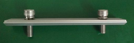 Nối Ray (gồm 2 bulong inox 304 M8x20)