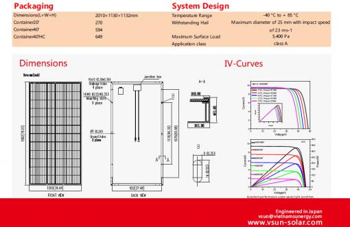 Pin VSUn 395W | Solar TLP